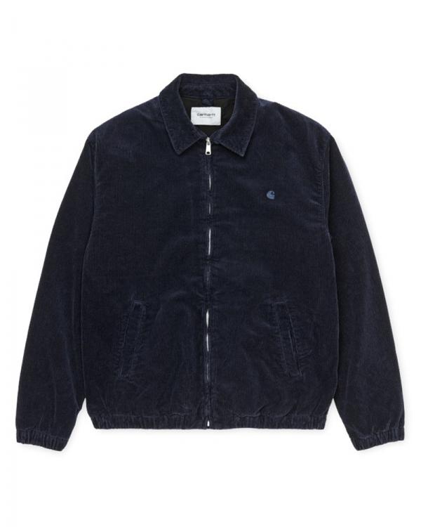 Carhartt WIP Madison Jacket (dark navy/dark navy rinsed)