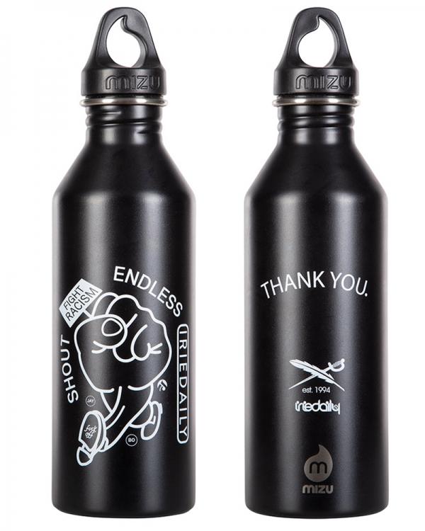 Iriedaily X Mizu Trash Wave M8 Bottle (white)