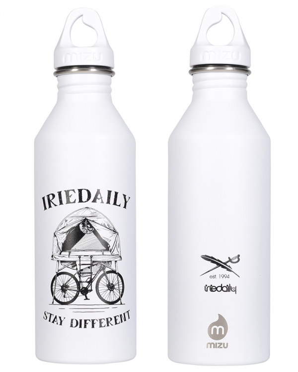Iriedaily X Mizu Voener M8 Bottle (white)