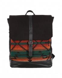 Iriedaily Santania Backpack (petrol red)