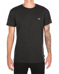 Iriedaily Retain T-Shirt (black melange)
