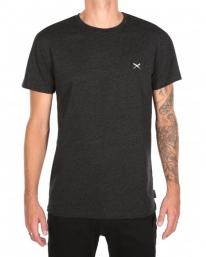 Iriedaily Retain T-Shirt (black melange)