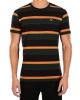 Iriedaily Rustico Stripe T-Shirt (black yellow)