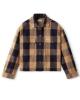 Brixton W Bowery Flannel Hemd (khaki)