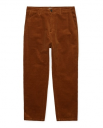 Carhartt WIP Menson Cord Pant (brandy rinsed)