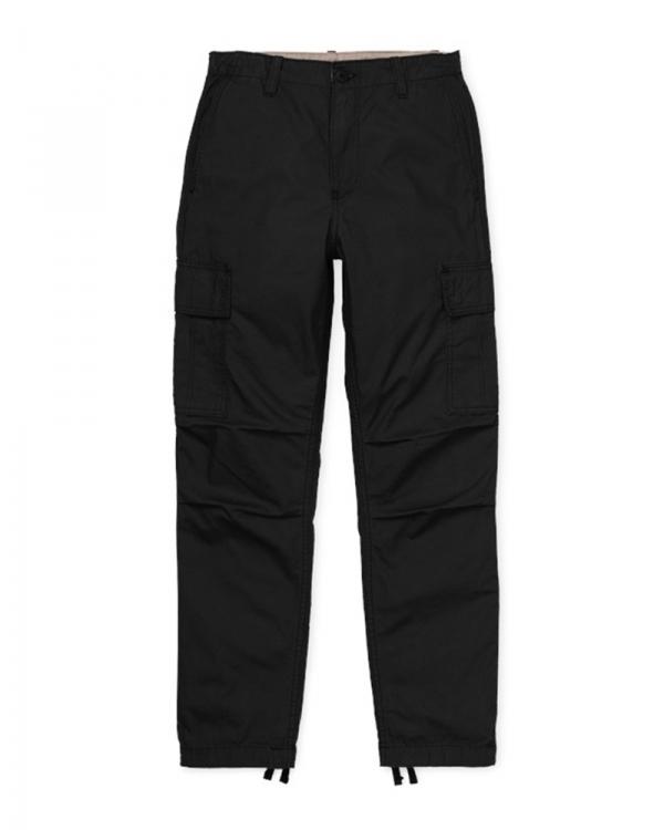 Carhartt WIP W Cymbal Cargo Pant (black rinsed)