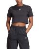 Adidas Cropped T-Shirt (black)