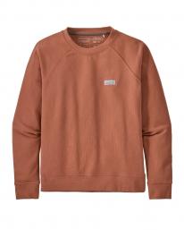 Patagonia W Pastel P6 Label Organic Crew Sweater (century pink)