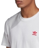 Adidas Essential T-Shirt (white/scarlet)