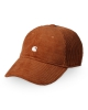 Carhartt WIP Harlem Cap (brandy/wax)