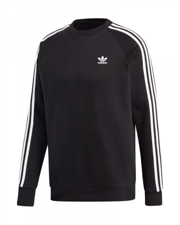 Adidas 3 Stripes Sweater (black)