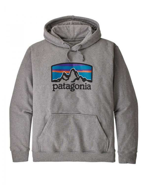 Patagonia Fitz Roy Horizons Uprisal Hoodie (gravel heather)