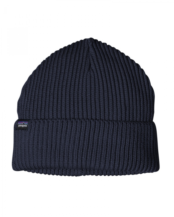 Patagonia Fishermans Rolled Beanie (navy blue)