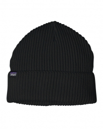 Patagonia Fishermans Rolled Beanie (black)