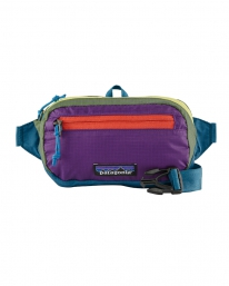 Patagonia Ultralight Black Hole Mini Hip Pack 1L (patchwork/steller blue)