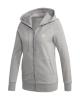 Adidas Track Top Jacke (grey heather/white)