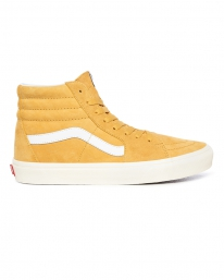Vans Sk8-Hi Pig Suede (honey gold/true white)