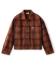 Brixton W Bowery Flannel Hemd (washed brown)