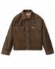 Brixton W Bowery Flannel Overshirt (khaki houndstooth)