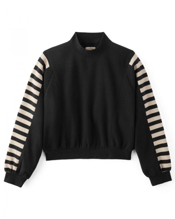 Brixton W Rhonda Fleece Sweater (black)