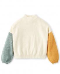 Brixton W Burning Up Strick Sweater (off white)