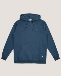 Cleptomanicx Ligull Heavy Hoodie (blue wing)