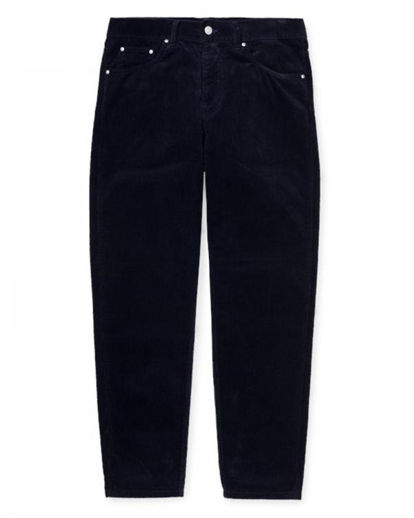 Carhartt WIP Newel Cord Pant (black rinsed)