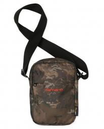 Carhartt WIP Payton Shoulder Pouch (camo combi/safety orange)