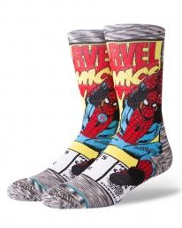 Stance Spiderman Comic Socken (grey)