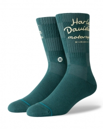 Stance Harley Checker Socken (green)