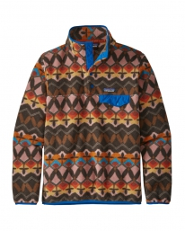 Patagonia W Lightweight Synchilla Snap-T Fleece Sweater (companions big/anthos pink)