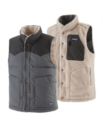 Patagonia Reversible Bivy Down Vest (forge grey)