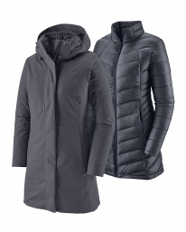 Patagonia W Tres 3-in-1 Parka (smolder blue)