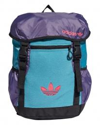 Adidas Toploader Rucksack (steel/tech purple)
