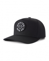 Brixton Crest C MP Cap (black)