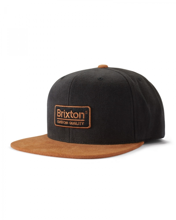 Brixton Palmer III MP Cap (amber/black)