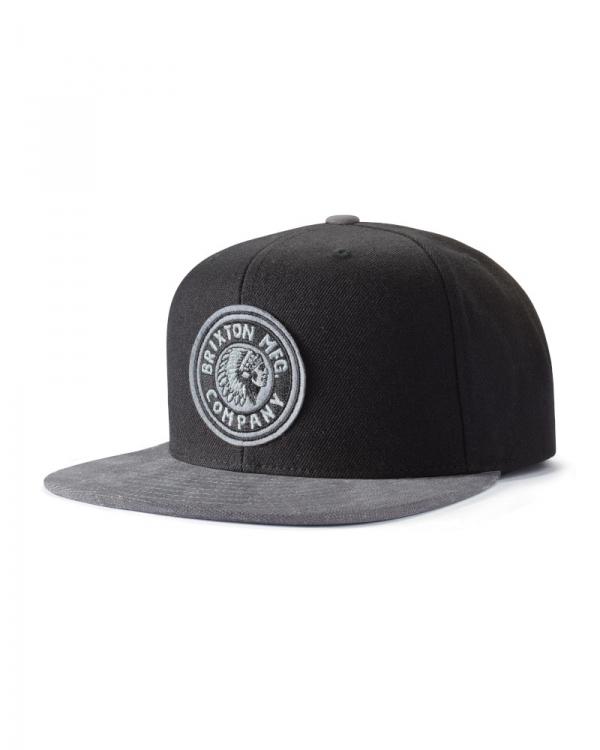 Brixton Rival Cap (black/grey)