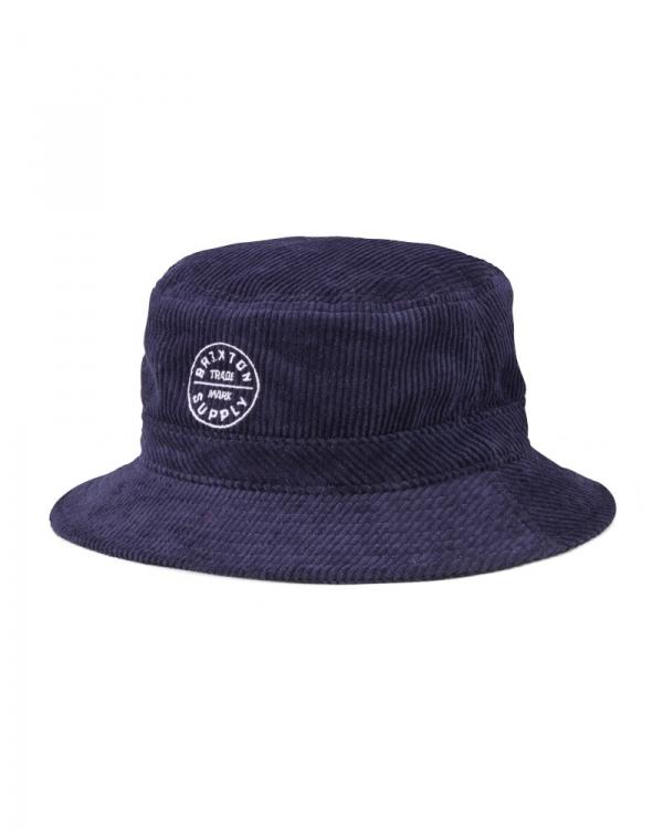 Brixton Oath Packable Bucket Hat (navy)