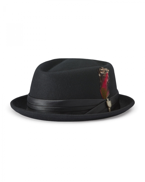 Brixton Stout Adjustable Hat (black)