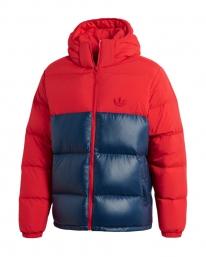 Adidas Down Regen Puff Jacket (scarlet/navy)