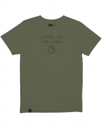 Dedicated Local Planet T-Shirt (leaf green)