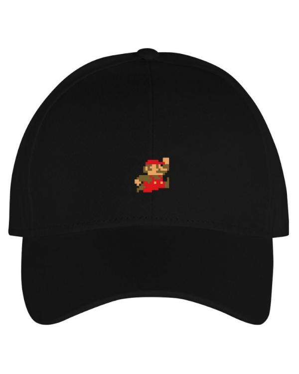 Dedicated Super Mario Cap (black)