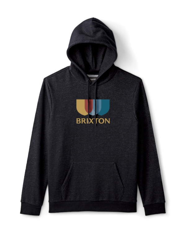 Brixton Alton II Hoodie (black)
