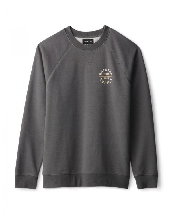 Brixton Oath V Crew Sweater (evergreen)