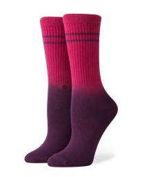 Stance Uncommon Dip Crew Socken (maroon)