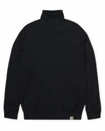 Carhartt WIP Playoff Turtleneck Sweater (black)