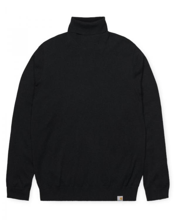 Carhartt WIP Playoff Turtleneck Sweater (black)