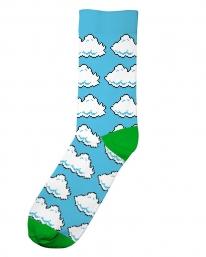 Dedicated X Nintendo Clouds Socken (light blue)