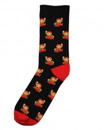 Dedicated X Nintendo Super Mario Pattern Socken (black)