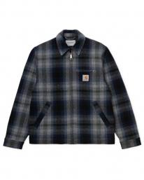Carhartt WIP Detroit Vermont Jacket (vermont check/black/admiral)